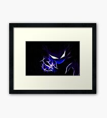 Pokemon Haunter Framed Print
