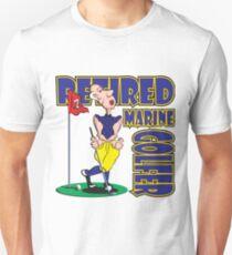 RETIRED MARINE GOLFER Unisex T-Shirt