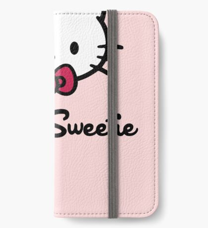 Hello Sweetie iPhone Wallet