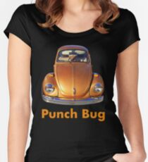 Punch Bug Women's Fitted Scoop T-Shirt