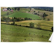 Western Illinois Farmland Poster