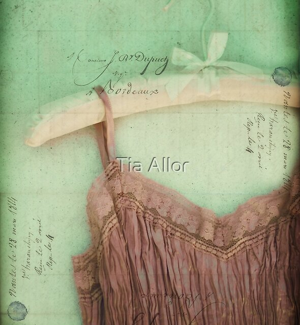 Linen & Lace I by Tia Bailey