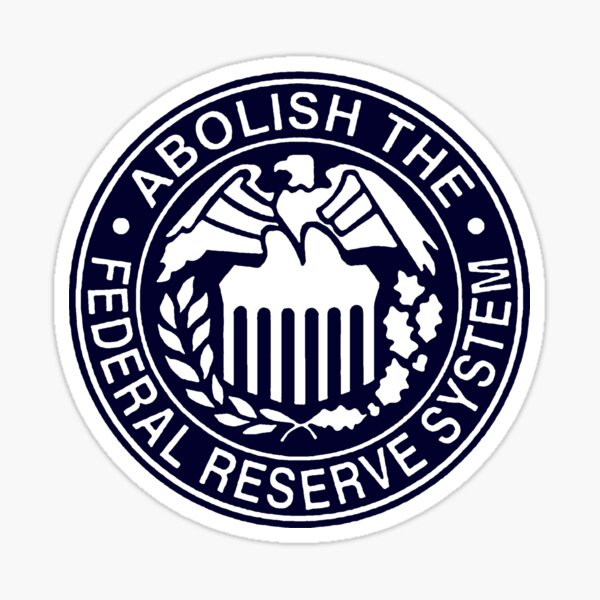 Federal Reserve Stickers Redbubble