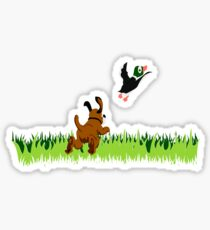 Who's Up for a Duck Hunt? Sticker