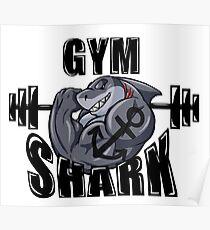 GYM SHARK Poster