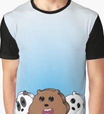 Ice Pop Bears Graphic T-Shirt