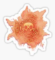 Pirate Treasure Sticker