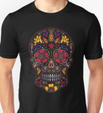 Tag der Toten Sugar Skull Dark Slim Fit T-Shirt