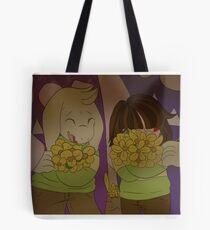 Chara and Asriel Tote Bag