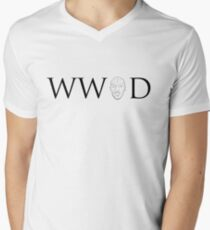 What Would Omar Do Mens V-Neck T-Shirt