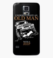 Never Underestimate An Old Man Jeep T-shirts Case/Skin for Samsung Galaxy