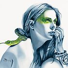Snake Totem by Michelle Tracey