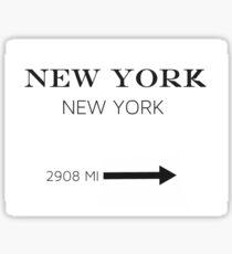 Prada Marfa - NEW YORK Sticker