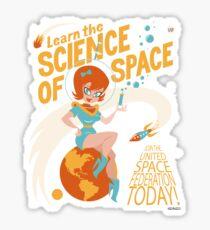 United Space Federation Sticker