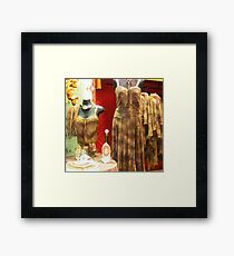 Italian Fashion2 Framed Print