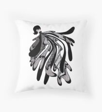 Spit Up Throw Pillow