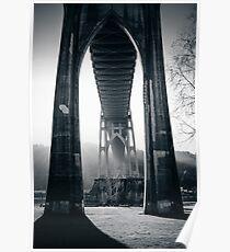 Under St. John's Bridge Poster