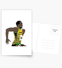 Usain Bolt Postkarten
