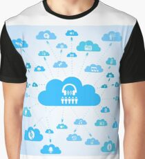 Music a cloud Graphic T-Shirt