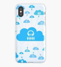 Music a cloud iPhone Case