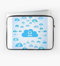 Music a cloud Laptop Sleeve