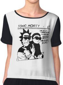 Sonic Morty v2 Chiffon Top