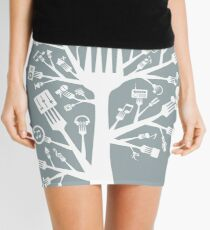 Music a plug Mini Skirt