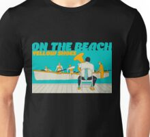 On The Beach - Yellow Shoes, acrylic painting Unisex T-Shirt