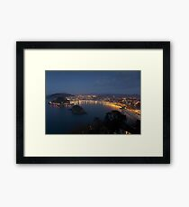 View of San Sebastian Framed Print