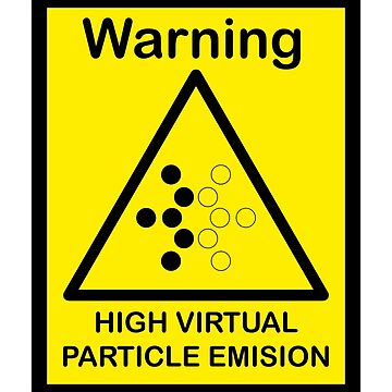 SCP Warning - Virtual Particle by xebec