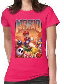 Mario's Doom Womens Fitted T-Shirt