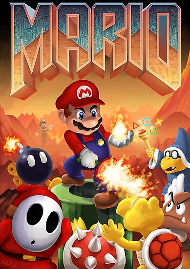 Mario's Doom by Jim Algar