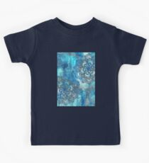 Lost in Blue - a daydream made visible Kids Tee