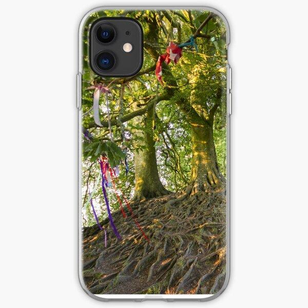 Avebury Tree roots iPhone Soft Case