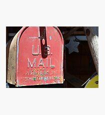 vintage US Mail box Photographic Print