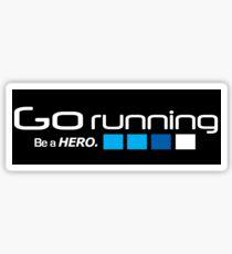 Running Sticker