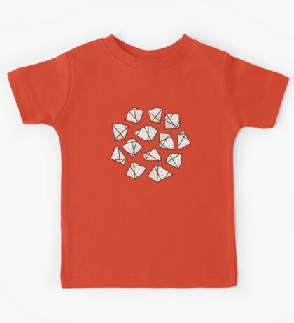 Polygonal stones and gemstones Kids Clothes