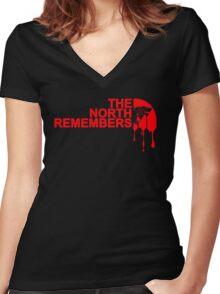 mash up TNR Women's Fitted V-Neck T-Shirt