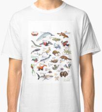 A bis Z von Amazing Animals Classic T-Shirt