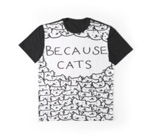 paced cat Graphic T-Shirt
