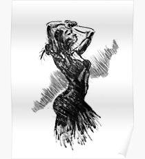 """""""Dancer"""" Poster"""