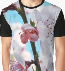 Peach Blossom Time Graphic T-Shirt
