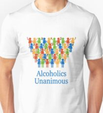 Acloholics unanimous T-Shirt