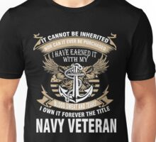 Veteran T-Shirts & Shirts : Forever The Title Navy Veteran Unisex T-Shirt
