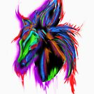 Psychedelic Horse by 319media