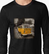 Vdub in Orange  Long Sleeve T-Shirt