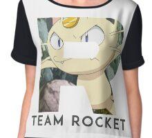 Pokemon Team Rocket Chiffon Top