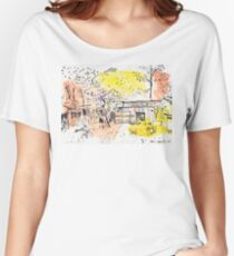 The Old Shed Out the Back Women's Relaxed Fit T-Shirt