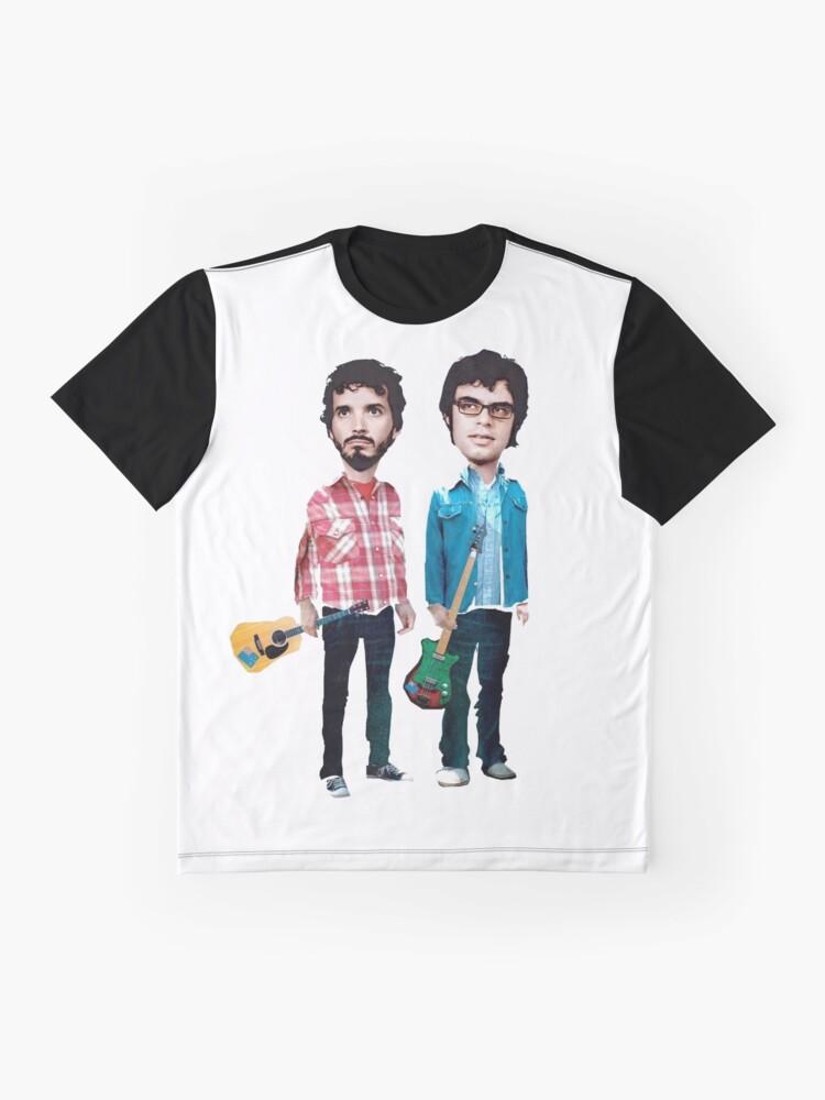 Vista alternativa de Camiseta gráfica Vuelo de los Conchords