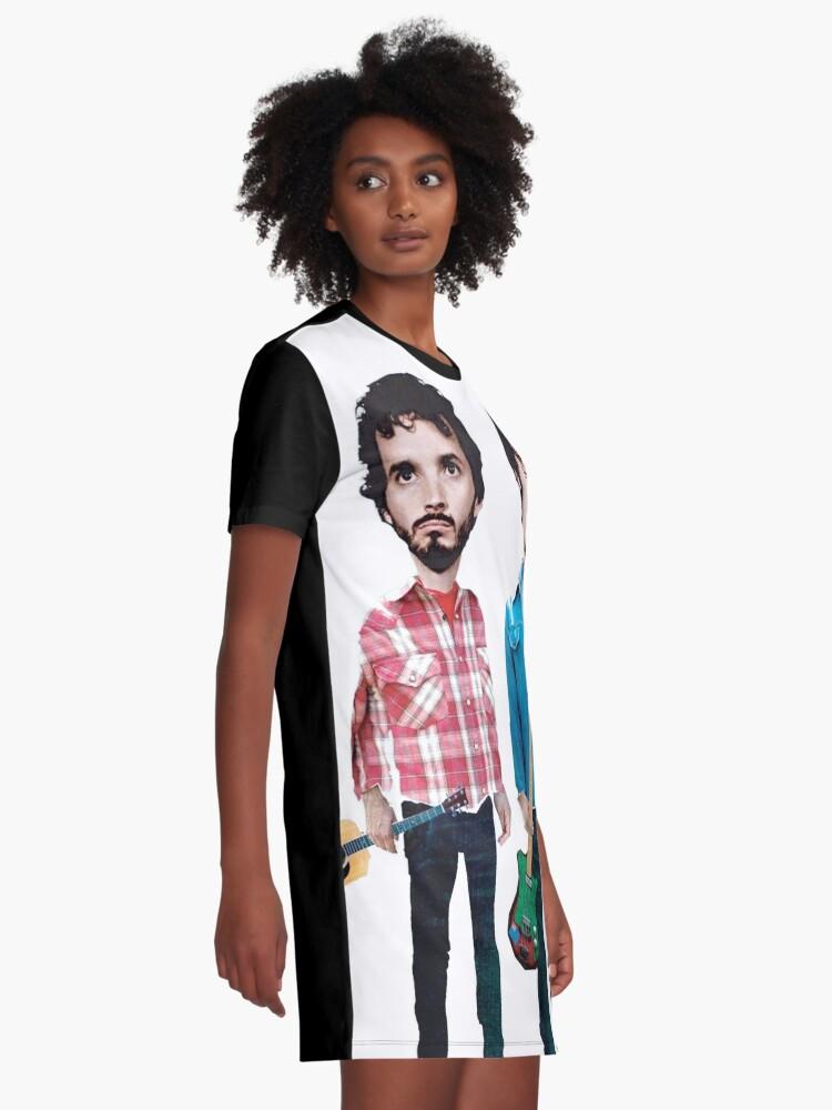 Vista alternativa de Vestido camiseta Vuelo de los Conchords
